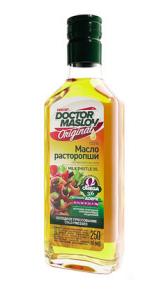 Масло расторопши «Докторъ МаслоВъ», 100%, стекло 250 мл